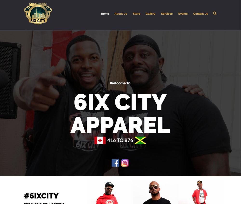 www.6ixcityapparel.com