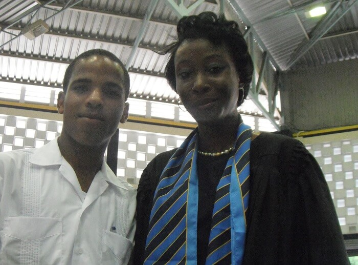 kemar-harris-first-day-at-UTech-Jamaica